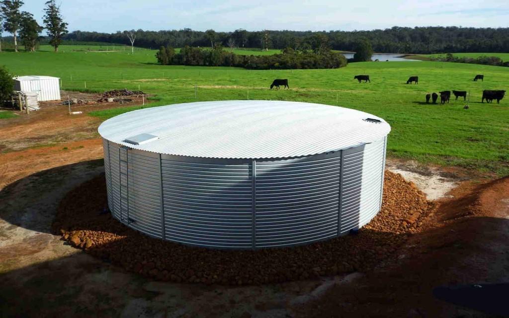 Rural Rain Water Tank